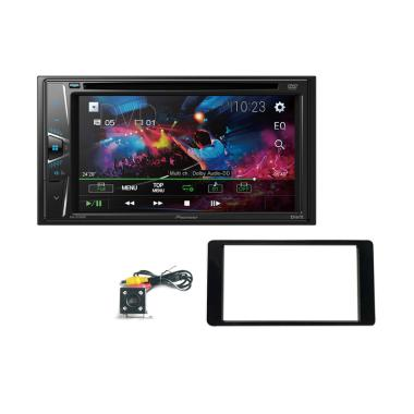 Pioneer AVH G115DVD Paket Double Din Head Unit