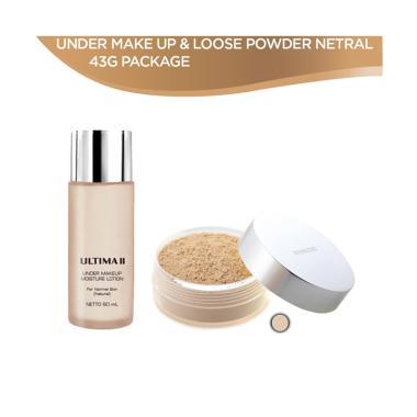 Ultima II Under Make Up & Loose Powder Package [43 g]
