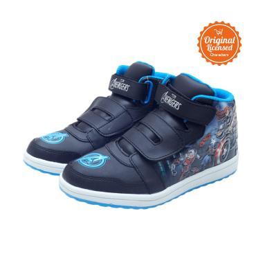 harga Marvel The Avengers Sepatu Boots Anak Laki-laki - Blue Blibli.com