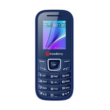 harga Strawberry Bomb Handphone [Dual SIM/ Radio FM] Biru Blibli.com