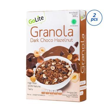 harga GoLite Dark Choco Hazelnut Granola [2 pcs/ 300g] Blibli.com