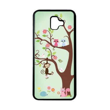 harga HEAVENCASE Motif Burung Bird 09 Softcase Casing for Samsung J6 Plus - Hitam Blibli.com