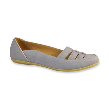 Syaqinah 070 Sepatu Flat Shoes Wanita - Abu