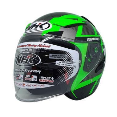harga NHK R1 Neuro Helm Half Face Blibli.com