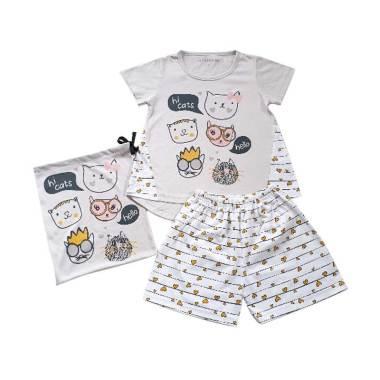 Anakecil Maddie Lee Hi Cats Setelan Baju Anak ...