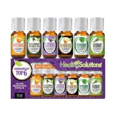 Healing Solutions Top 6 Blends Gift Set Essential Oil [10 mL]