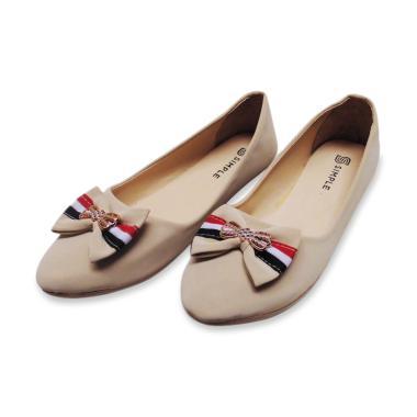 harga Simple Velicia Flat Shoes Wanita - Ribbon Blibli.com