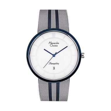 Alexandre Christie Dial Dual Tone Stainless ...