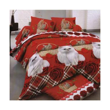 Rosewell Microtex 1179 Cat Set Sprei