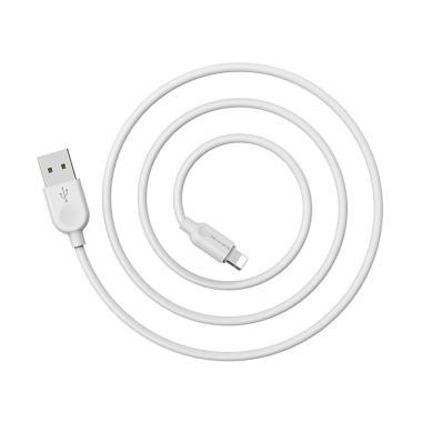harga BOROFONE BX14 LinkJet Cable Data Charging for iPhone - Putih [1 m] Blibli.com