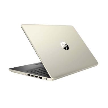 harga HP Pavilion 14S-CF0069TX Notebook - Gold [Core I3-7020U/ 4GB/ 1TB/ No ODD/ R520 2GB/ 14 Inch/ Win 10] Blibli.com