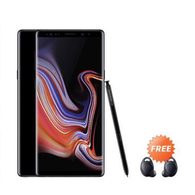 Samsung Galaxy Note9 Smartphone - Midnight Black [512GB/ 8GB] + Free Samsung Icon Gear-X Earbud