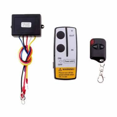 harga Bluelans Winch Remote Control LED Switch Handset Kit for Car UTV/ ATV/ SUV [12/24V /120W] Blibli.com