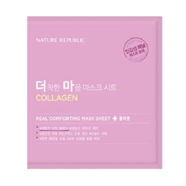 harga Nature Republic Real Comforting  Collagen Mask Sheet Blibli.com