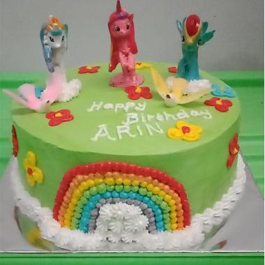 Kanaan Cake Blackforest Little Pony Kue Ulang Tahun
