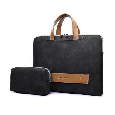 harga J.QMEI PU Leather Tas Laptop Jinjing 14 inch with Pouch Blibli.com
