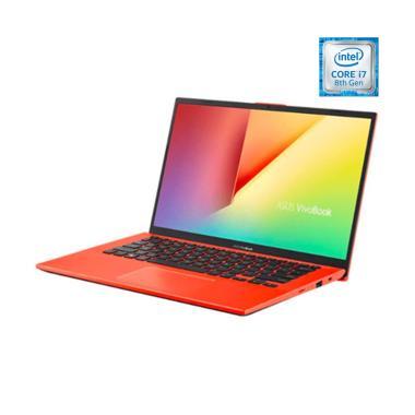 harga ASUS A412FL-EK704T Notebook - Coral Crush [i7-8565U/ 512GB/ 8GB/ MX250 2GB/Win10/ 14 Inch] Blibli.com