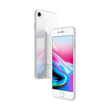 Apple Iphone 8 (Silver, 64 GB) (Refurbish)