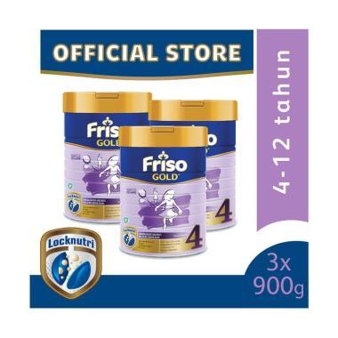 WHS - Friso 4 Gold Susu Formula [900 g/ 3pcs]