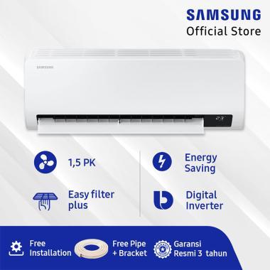 harga Samsung AR13TYGZEWKNSE Wall Mount Inverter AC Split [1.5 PK] + Free Pipe + Bracket Blibli.com