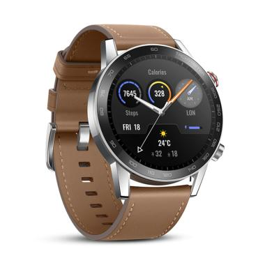 harga Honor Magic Watch 2 46mm Smart Watch [Baterai 14 Hari + 15 Mode Olahraga] Flax Brown Blibli.com