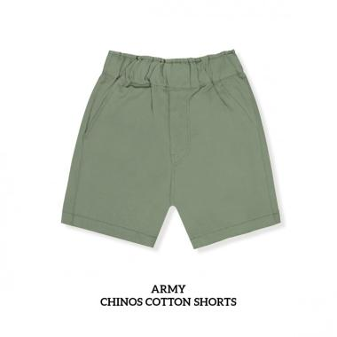 harga Little Palmerhaus Baby Chinos Cotton Shorts Celana Pendek Anak (1-6Y) 5 tahun army Blibli.com