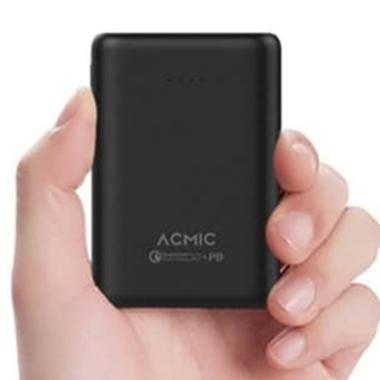 ACMIC P10PRO Mini Powerbank - Hitam [10000 mAh/ Quick Charge 3.0 + PD]
