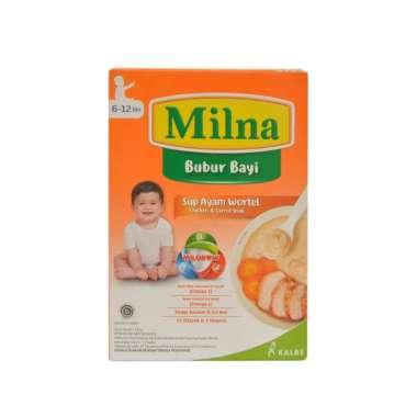 harga Milna Bubur Bayi 6-12 Bulan Rasa Sup Ayam Wortel [120gram] Blibli.com