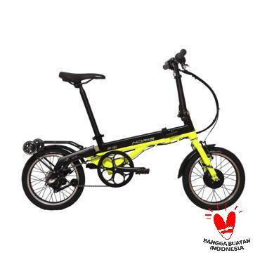 harga Pacific Noris E16 E-Bike Sepeda Listrik - Black Yellow Blibli.com