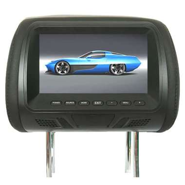 harga Bluelans Universal 7 Inch Car Headrest Monitor Rear Seat Entertainment Multimedia Player Blibli.com