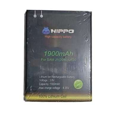 harga HIPPO Baterai Handphone for Samsung J1 2016 or J120 [1900 mAh] Blibli.com