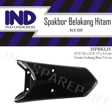 harga IND Onderdil Spakbor-Spakboard-Slebor-Spak Bor-Board-Cecepet-Buntut Belakang Warna Hitam-Item-Black Kawasaki KLX 150  Hitam