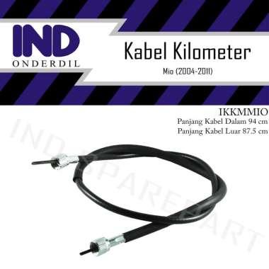 harga IND Onderdil Kabel Tali Kawat Speedometer Aksesoris Motor for Yamaha Mio Lama-Old Karbu 2004/ 2005/ 2006/ 2007/ 2008/ 2009/ 2010/ 2011 HItam Blibli.com