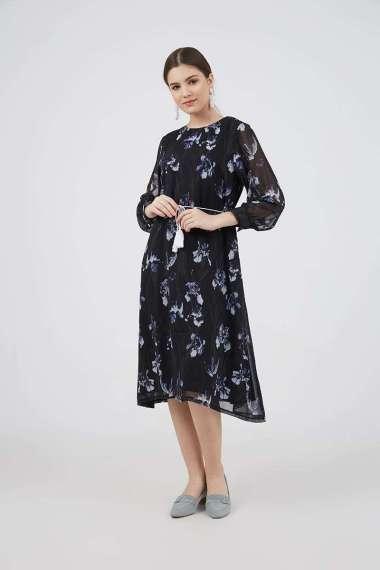 Berrybenka Quenia Floral Dress