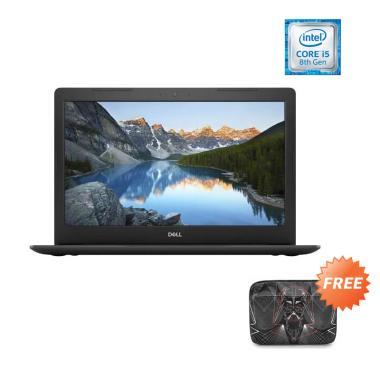 DELL Inspiron 15 5583 BOLT Notebook- Black (i5-8265U / 8GB / 2TB HDD/ MX130/ 15.6