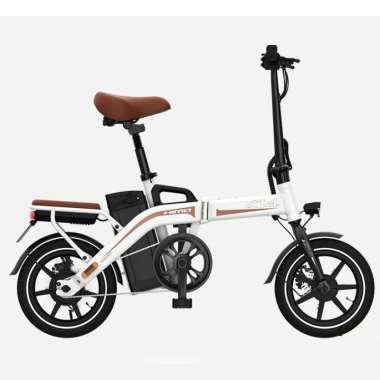 harga HIMO Z14 Sepeda Lipat Elektrik Smart Moped 350W 12Ah Standard Edition - White Blibli.com