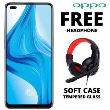 harga Oppo Reno 4F 8-128 GB Free Headphone Blibli.com