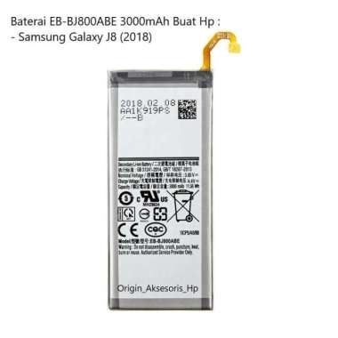 harga Original Baterai EB-BJ800ABE Buat Handphone Samsung Galaxy J8 (2018) Blibli.com