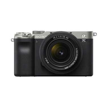 Sony Alpha ILCE A7C A 7C Kit 28-60mm Mirrorless Digital Silver