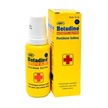 PROMO 6 BOTOL Betadine Antiseptic Solution [15 mL]