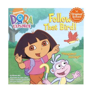 Dora the Explorer Follow That Bird Komik Book