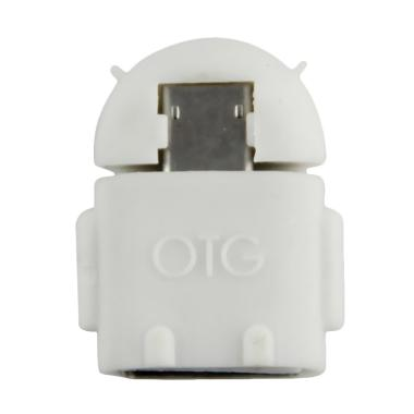 OTG Android USB Adapter - White