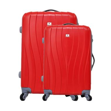 Polo Team 002 Hardcase Set Tas Koper - Red [19 & 23 Inch]