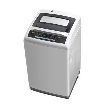 Sanken QW-S100 Mesin Cuci - Putih [Top Loading/ 10 kg]