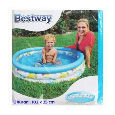 Bestway Ocean Life Kolam Renang Anak 102 X 25 Cm