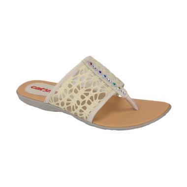Catenzo Teplek Zika RM 016 Sandal Wanita - Cream
