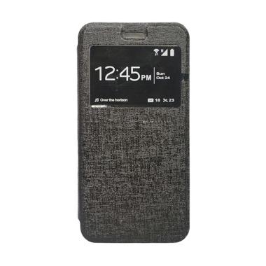 Delkin Flip Cover Casing for Samsung Z2 - Hitam