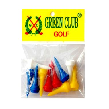 Green Club Golf GC T3510 Plastik Golf Tees