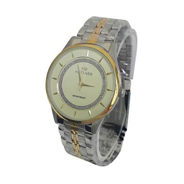 Hegner 600018 Jam Tangan Pria - Silver Gold