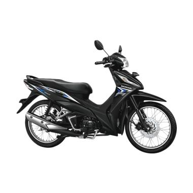 Honda New Revo FI 110 FIT Sepeda Motor - Galaxy Blue